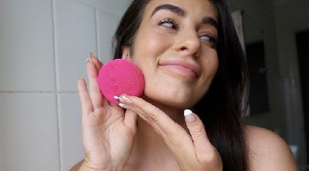 Instagram made me buy it: FOREO LUNA fofo facial cleansing brush