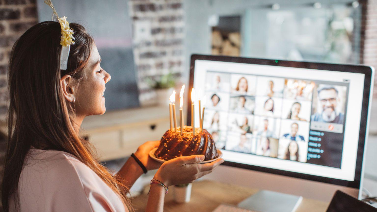Birthday video call