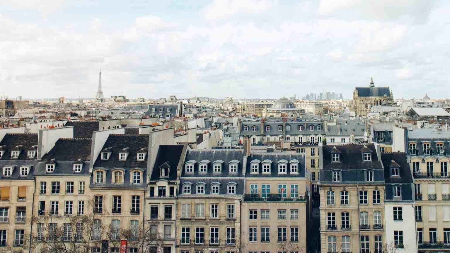 Buildings in Paris, France
