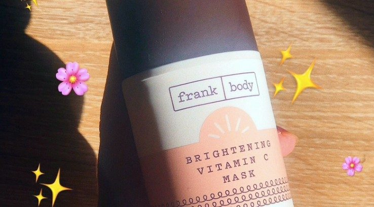 Review: Frank Body Brightening Vitamin C Mask