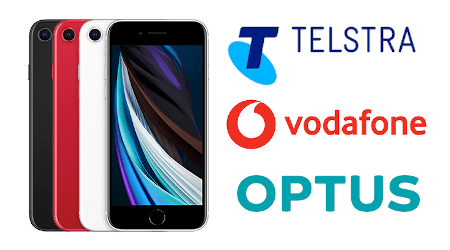 New iPhone SE 2020 Plans from Telstra, Optus & Vodafone