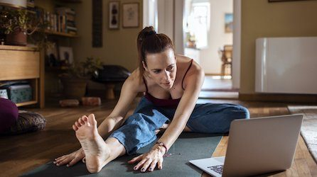 What you need to do Pilates at home