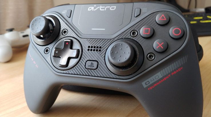 Astro C40 TR controller front shot