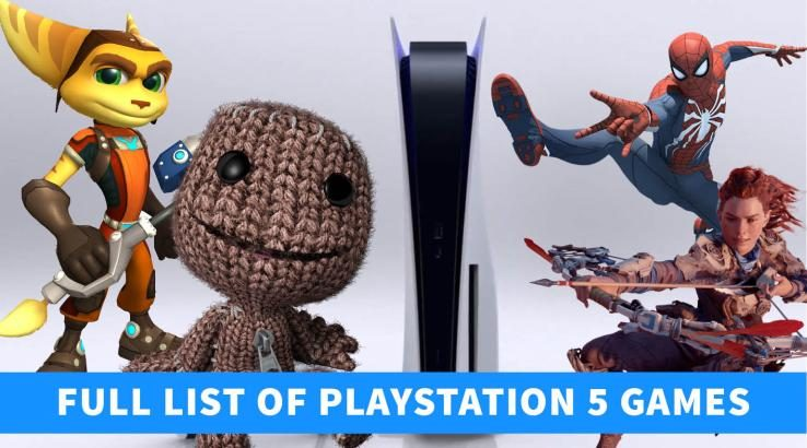 List of PlayStation 5 games