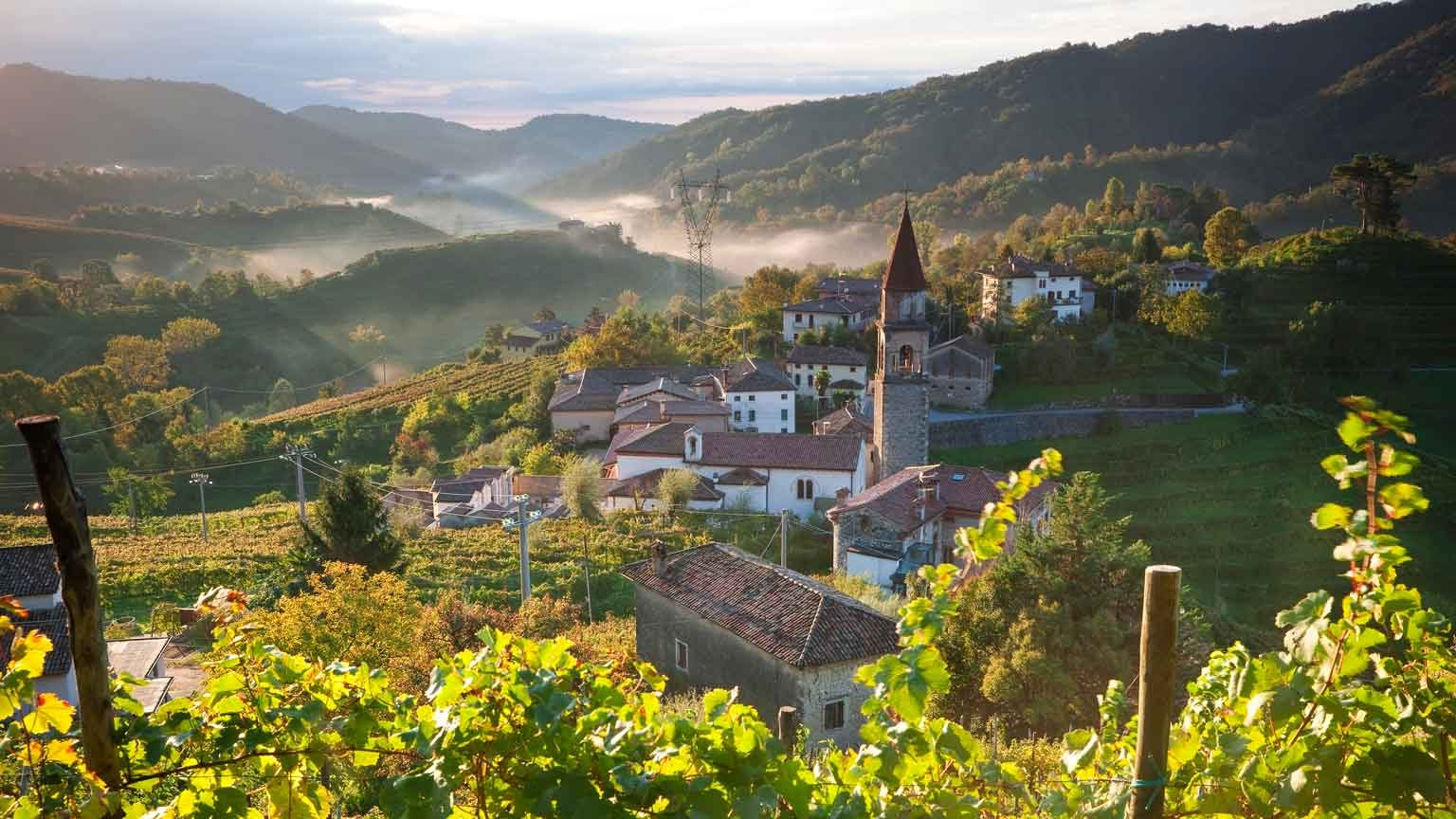 Rolle Village & Prosecco Vineyards