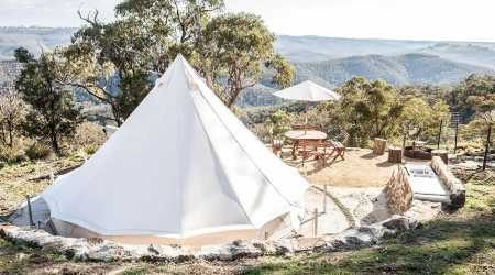 Luxury Airbnb glamping spots in Australia that give hotels a run for their money