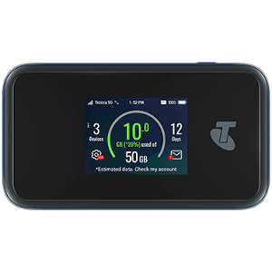 Telstra's updated 5G Wi-Fi hub is capable of decent speeds on existing 5G networks, and the promise of mmWave compatibility means it could get considerably faster in the near future.