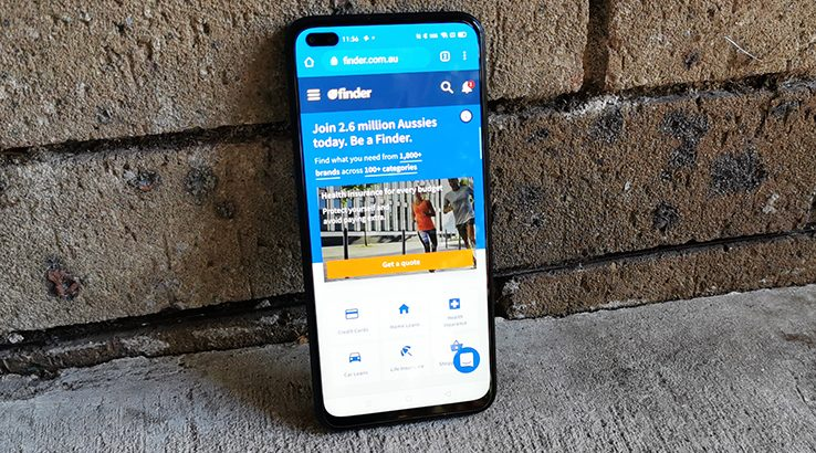 Realme X3 Superzoom Review Finder
