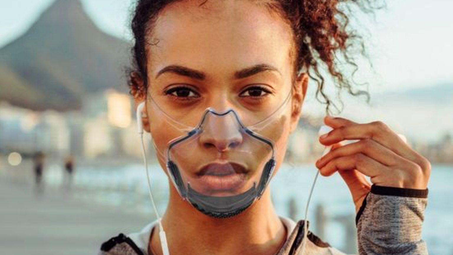 clear masks