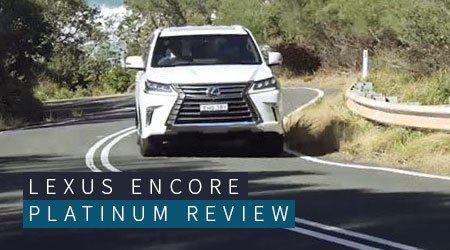 Lexus Encore Platinum review