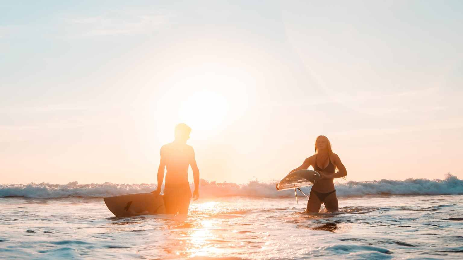 surf couple