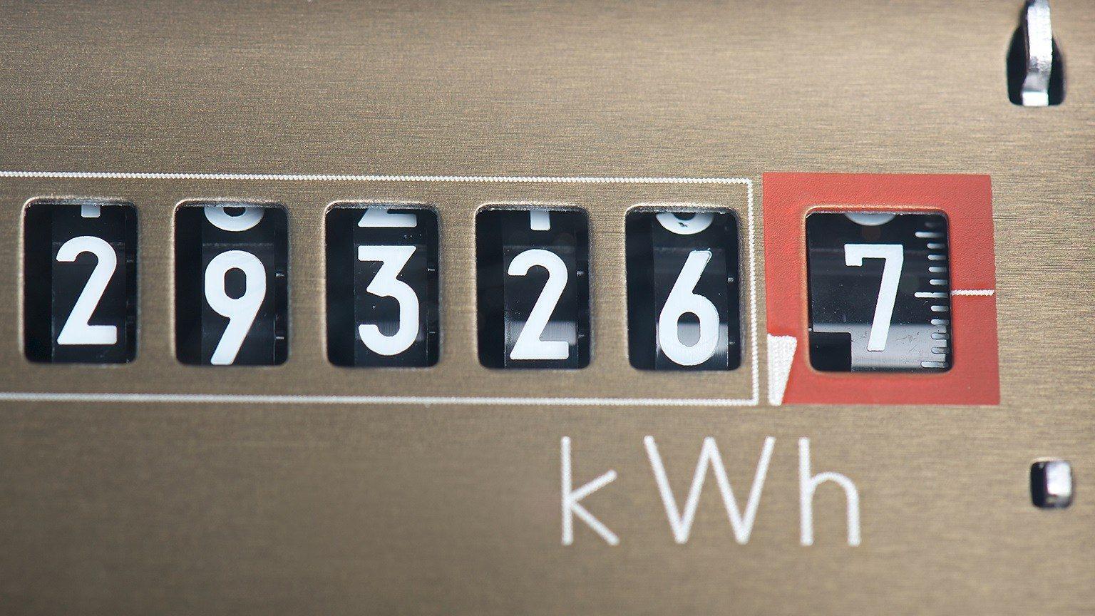 Electricity meter - kilowatt