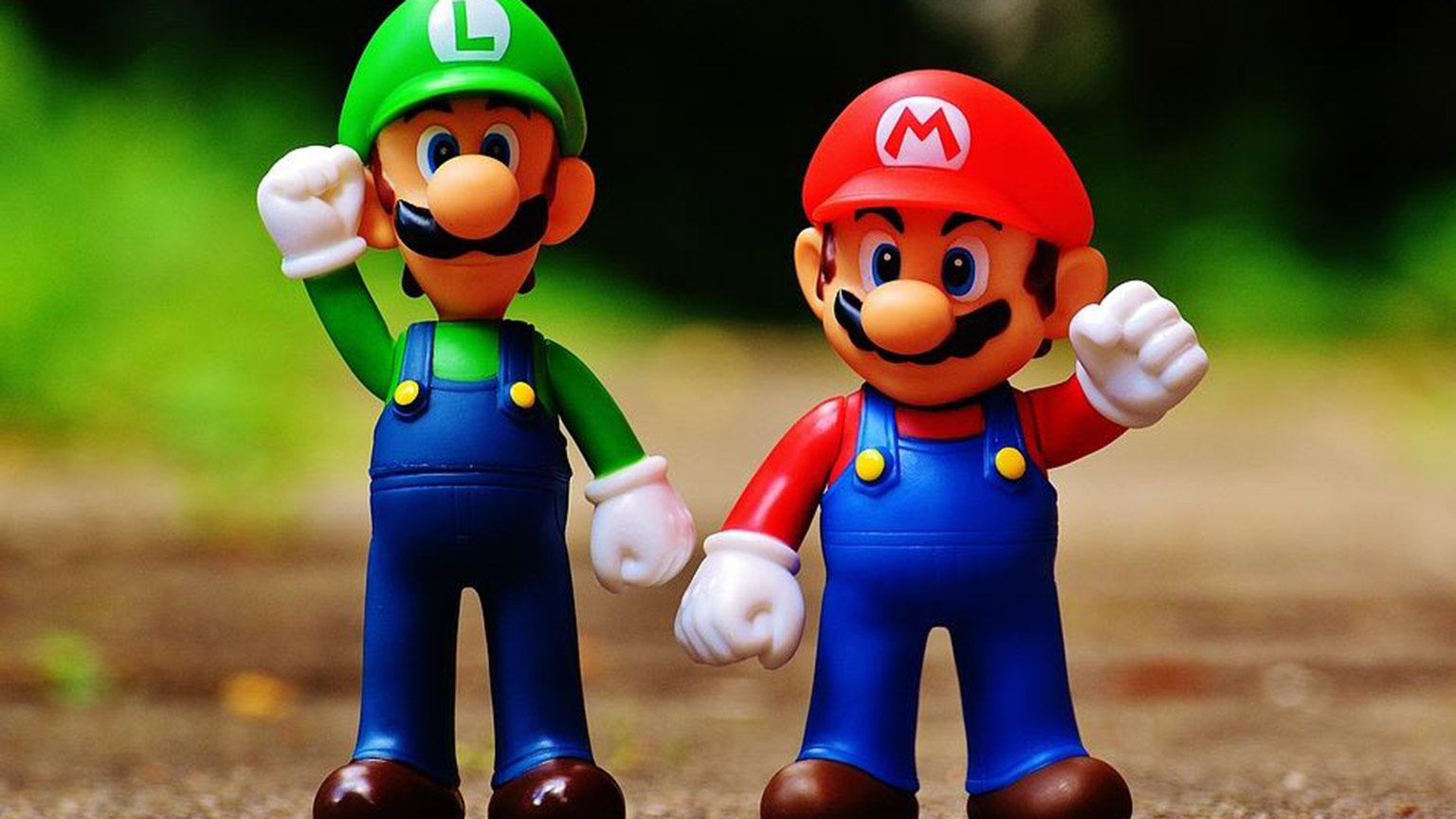 Mario And Luigi Action Figure