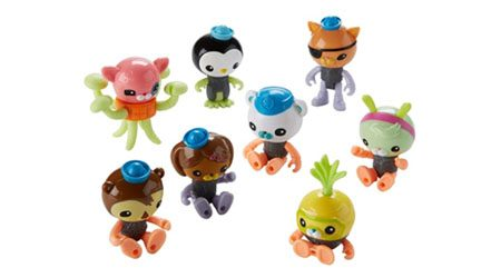 Top sites to buy Octonauts toys online in Australia