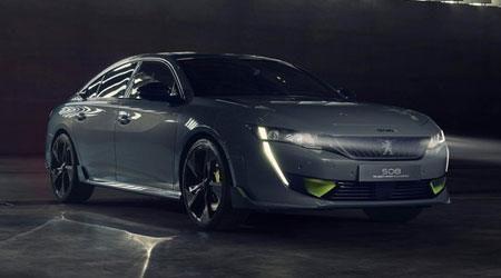 Peugeot unveils 508 Sport Engineered hybrid sedan and wagon