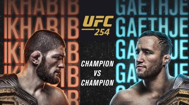 How to watch UFC 254 Nurmagomedov vs Gaethje live in Australia