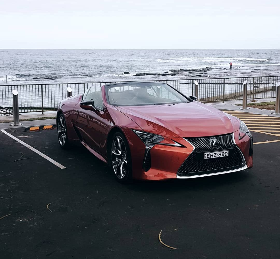 Lexus LC 500 Convertible review