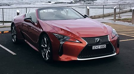 Lexus LC 500 Convertible Review: First impression