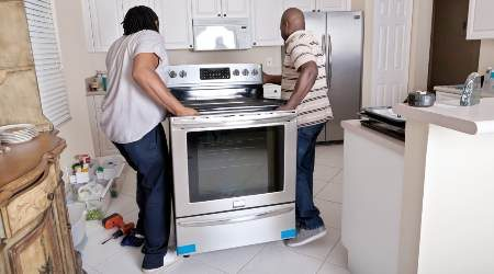 Stove connection services