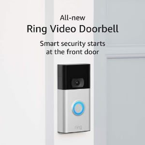 30% off the all new Ring doorbell