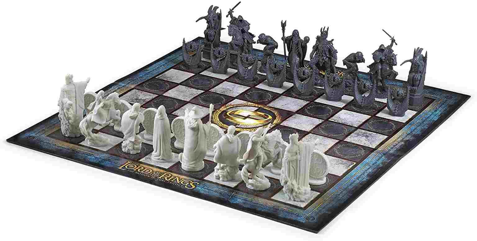 lord of the rings chess set from amazon