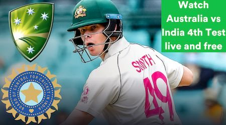 Australia vs India fourth Test: Start time and how to watch free