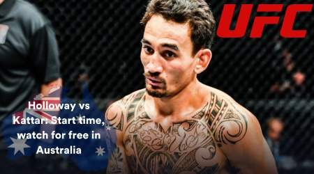 UFC Fight Night: Holloway vs Kattar – start time and how to watch live in Australia