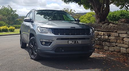 Jeep Compass Night Eagle review