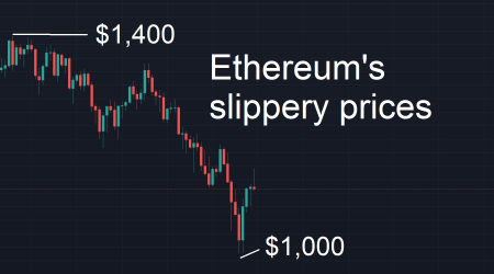 Ethereum price: Massive slide as market faces bearish pressure