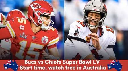 NFL Super Bowl 55 Tampa Bay Buccaneers vs Kansas City Chiefs: Start time and how to watch in Australia