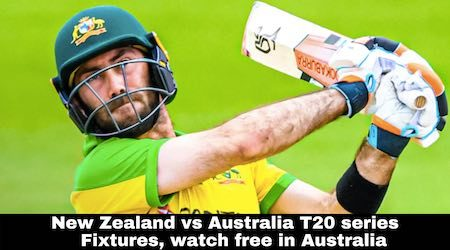 New Zealand vs Australia T20 cricket series: Fixtures and how to watch live and free in Australia