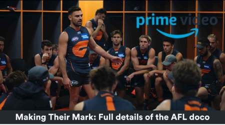 Making Their Mark: Unprecedented AFL access on Amazon Prime Video