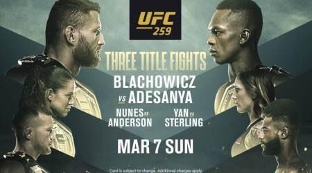 How to watch UFC 259 Adesanya vs Blachowicz live in Australia