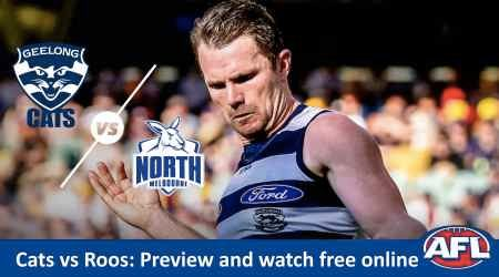 How to watch Geelong Cats vs North Melbourne AFL live and match preview