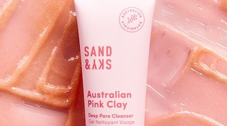 Sand & Sky Australian Pink Clay Deep Pore Cleanser review