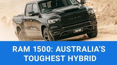 Australia's first hybrid ute: Introducing the Ram 1500 DT