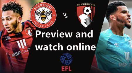 Brentford vs Bournemouth EFL Championship play-off semi-final