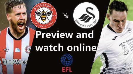 How to watch Brentford vs Swansea Championship play-off final live in Australia and start time