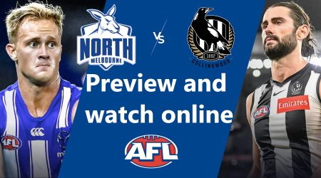How to watch North Melbourne Kangaroos vs Collingwood Magpies AFL live and match preview