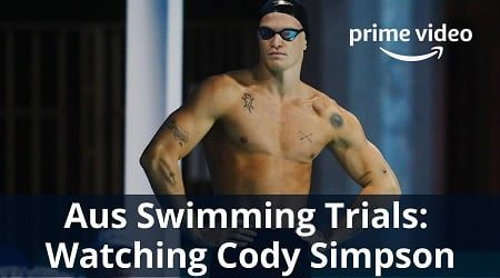Australian Swimming Trials: Cody Simpson, the singer-turned-swimmer