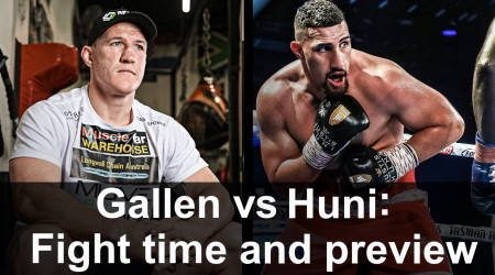 How to watch Paul Gallen vs Justis Huni grudge match live online