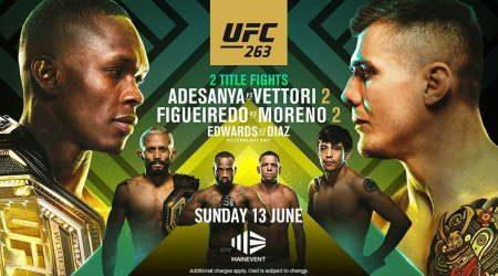 How to watch UFC 263 Adesanya vs Vettori 2 live in Australia