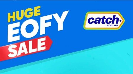 EOFY sales at Catch: 50% off LG, Ray-Ban, Antler, Under Armour