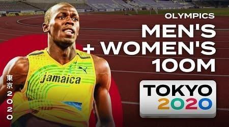 How to watch Tokyo 2020 men's and women's 100 metres finals live