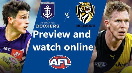 How to watch Fremantle Dockers vs Richmond Tigers AFL live and match preview