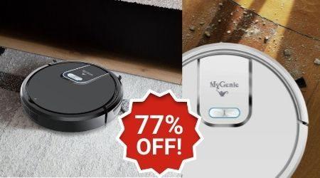Killer eBay deal: 77% off MyGenie GMAX robot vacuum cleaners
