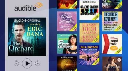 Audible now lets you listen to thousands of free books per month