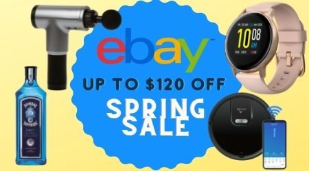 eBay sale: Get $120 off spring essentials right now