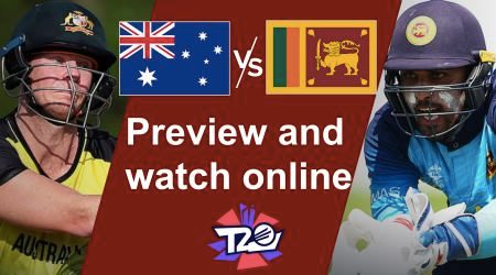 How to watch Australia vs Sri Lanka T20 World Cup live online