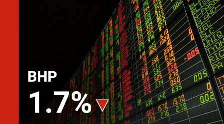 Why has the BHP share price slipped today?